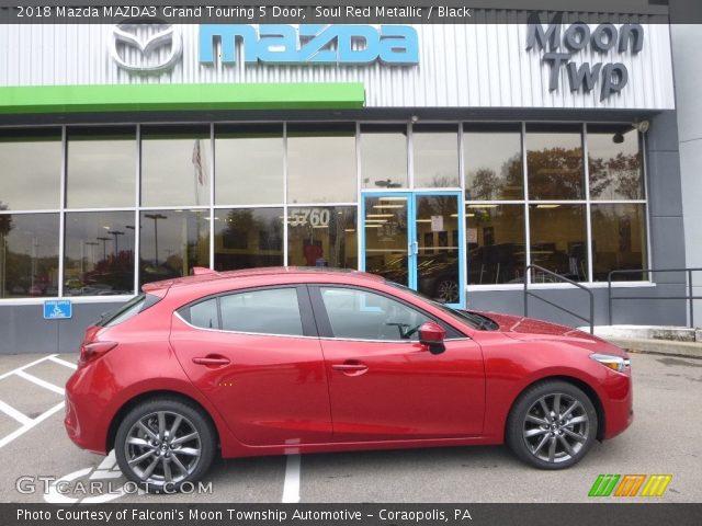 2018 Mazda MAZDA3 Grand Touring 5 Door in Soul Red Metallic