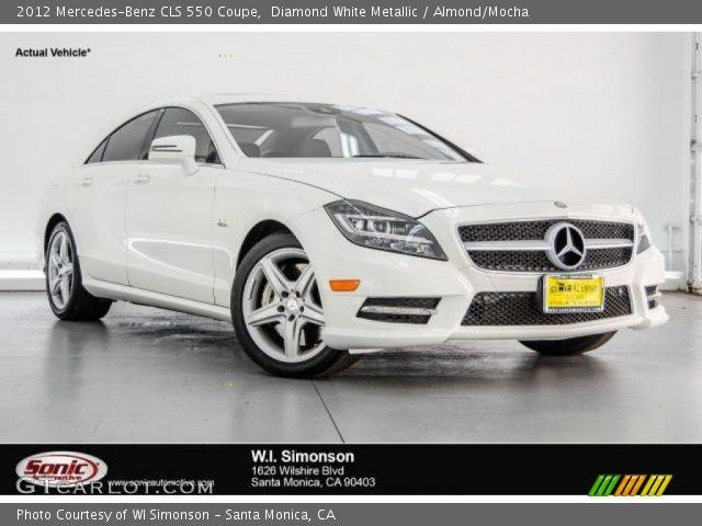 2012 Mercedes-Benz CLS 550 Coupe in Diamond White Metallic