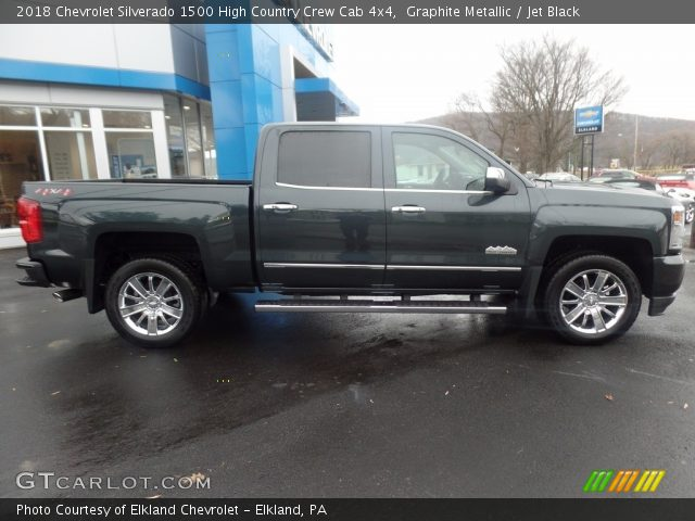 2018 Chevrolet Silverado 1500 High Country Crew Cab 4x4 in Graphite Metallic