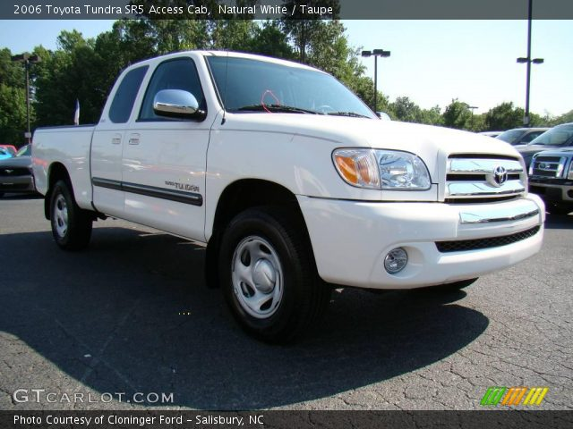 natural white 2006 toyota tundra sr5 access cab taupe interior vehicle. Black Bedroom Furniture Sets. Home Design Ideas