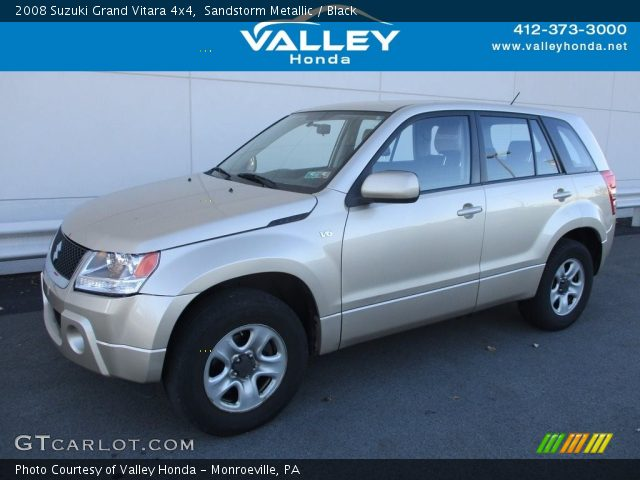 2008 Suzuki Grand Vitara 4x4 in Sandstorm Metallic
