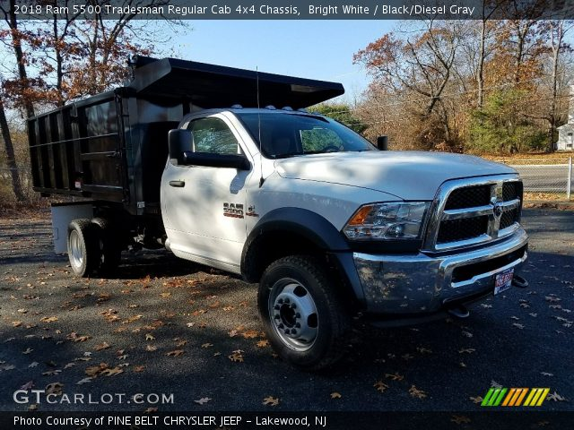 2018 Ram 5500 Tradesman Regular Cab 4x4 Chassis in Bright White