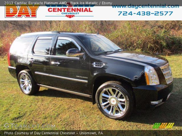 2013 Cadillac Escalade Platinum AWD in Black Ice Metallic