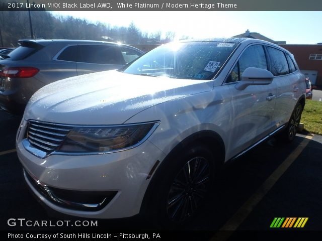 2017 Lincoln MKX Black Label AWD in White Platinum