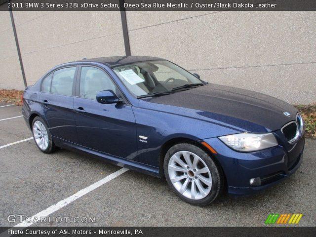 2011 BMW 3 Series 328i xDrive Sedan in Deep Sea Blue Metallic