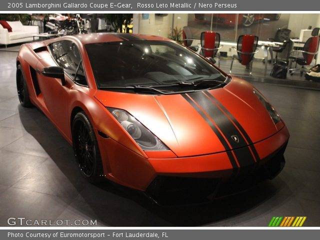 2005 Lamborghini Gallardo Coupe E-Gear in Rosso Leto Metallic