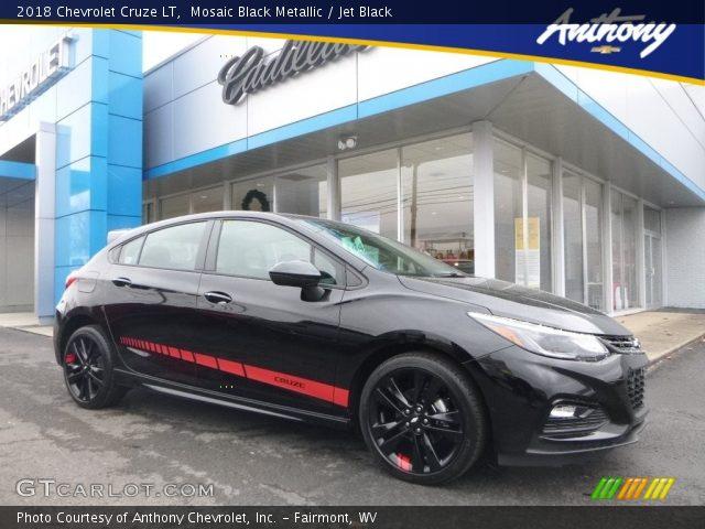 2018 Chevrolet Cruze LT in Mosaic Black Metallic