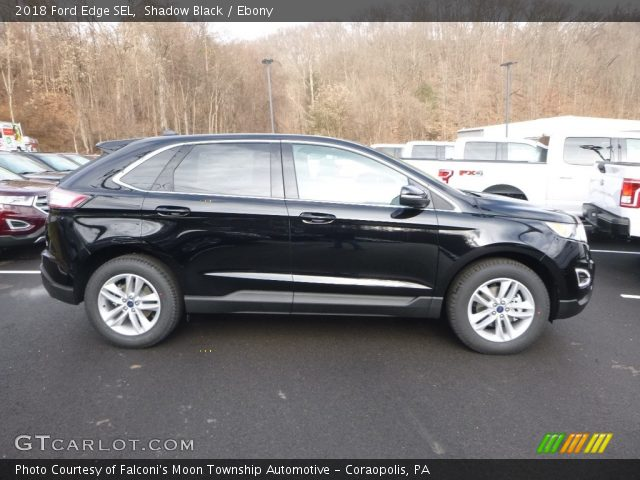 2018 Ford Edge SEL in Shadow Black