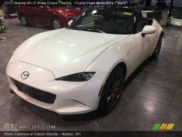 2017 Mazda MX-5 Miata Grand Touring in Crystal Pearl White Mica