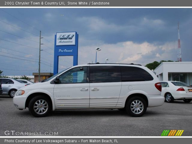 Stone white 2001 chrysler town country lxi sandstone - 2001 chrysler town and country interior ...