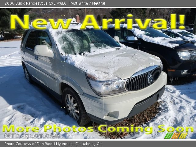 2006 Buick Rendezvous CXL AWD in Frost White