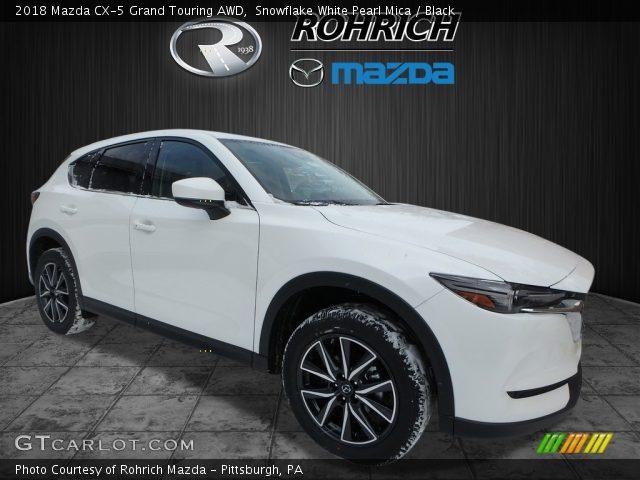 2018 Mazda CX-5 Grand Touring AWD in Snowflake White Pearl Mica