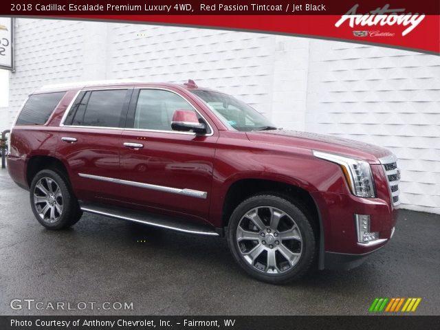 2018 Cadillac Escalade Premium Luxury 4WD in Red Passion Tintcoat