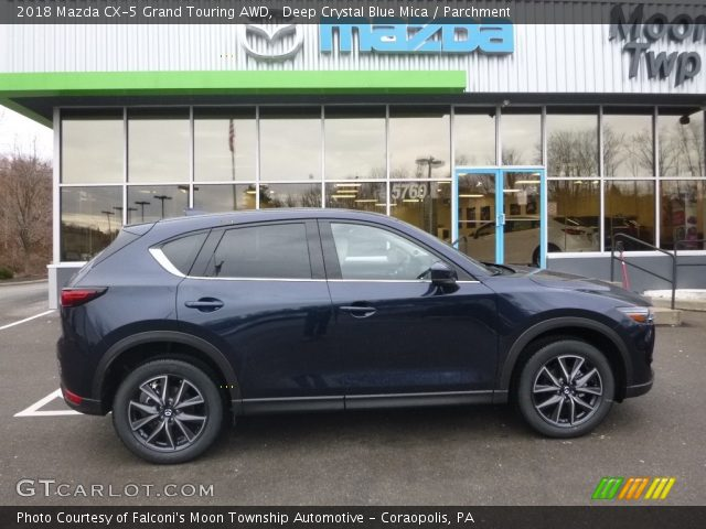 2018 Mazda CX-5 Grand Touring AWD in Deep Crystal Blue Mica