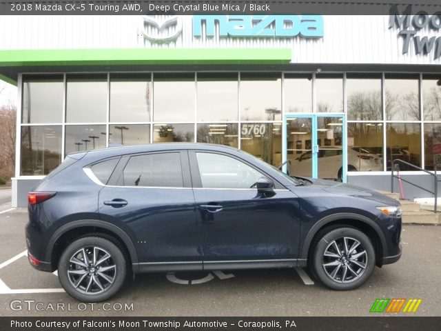 2018 Mazda CX-5 Touring AWD in Deep Crystal Blue Mica