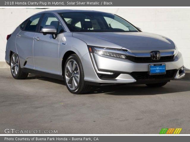2018 Honda Clarity Plug In Hybrid in Solar Silver Metallic