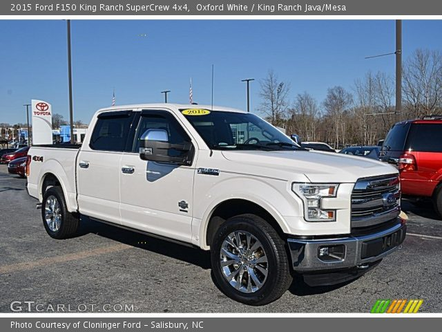 2015 Ford F150 King Ranch SuperCrew 4x4 in Oxford White