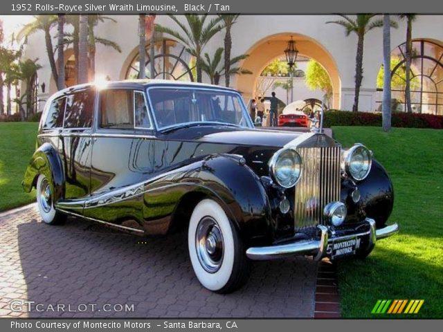 1952 Rolls-Royce Silver Wraith Limousine in Black