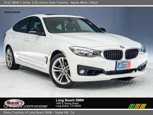 2015 BMW 3 Series 328i xDrive Gran Turismo in Alpine White