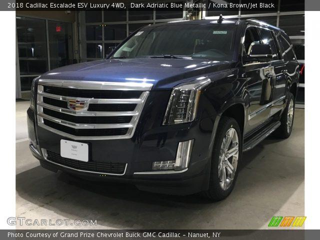 2018 Cadillac Escalade ESV Luxury 4WD in Dark Adriatic Blue Metallic