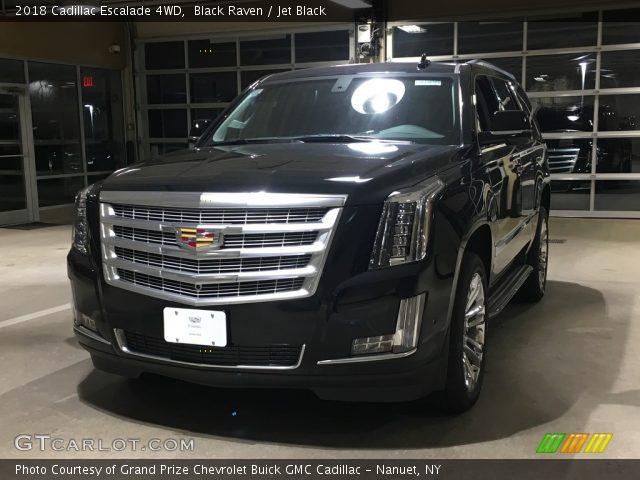 2018 Cadillac Escalade 4WD in Black Raven