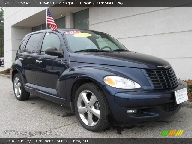 2005 Chrysler PT Cruiser GT in Midnight Blue Pearl. Click to see large ...