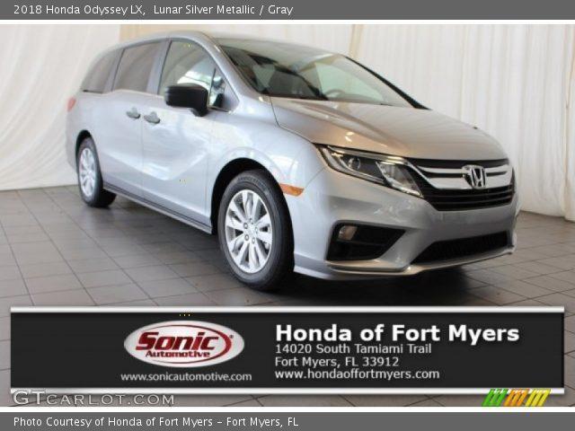 2018 Honda Odyssey LX in Lunar Silver Metallic