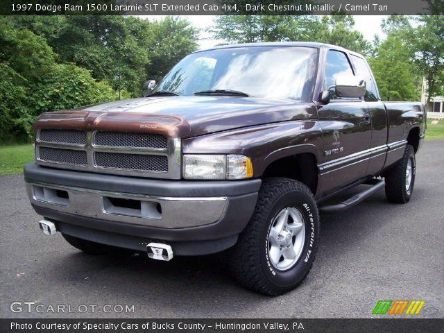 Dark Chestnut Metallic 1997 Dodge Ram 1500 Laramie Slt