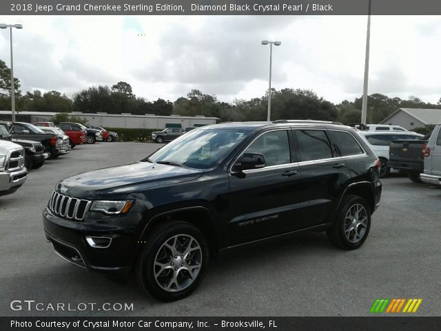 2018 jeep grand cherokee sterling edition black