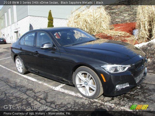 2018 BMW 3 Series 340i xDrive Sedan in Black Sapphire Metallic