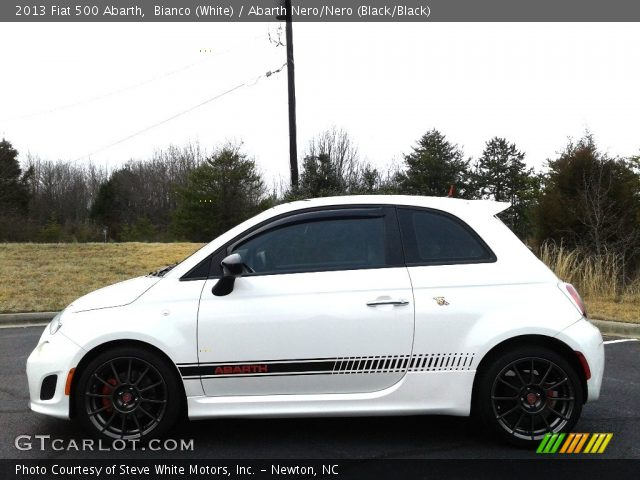 2013 Fiat 500 Abarth in Bianco (White)