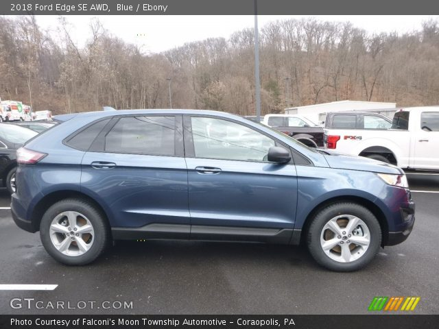 2018 Ford Edge SE AWD in Blue