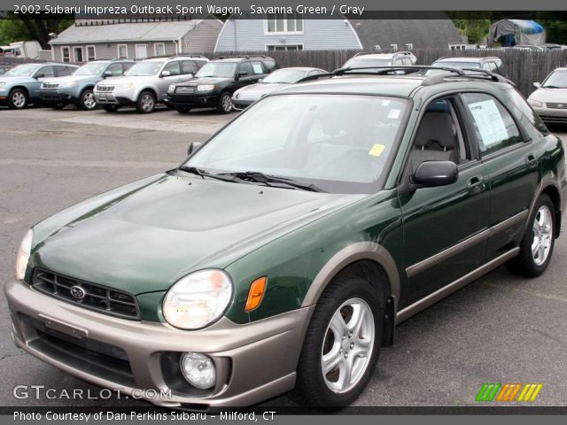 savanna green 2002 subaru impreza outback sport wagon. Black Bedroom Furniture Sets. Home Design Ideas