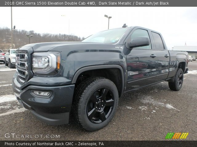 2018 GMC Sierra 1500 Elevation Double Cab 4WD in Dark Slate Metallic