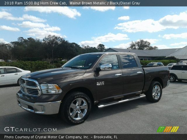 2018 Ram 1500 Big Horn Crew Cab in Walnut Brown Metallic