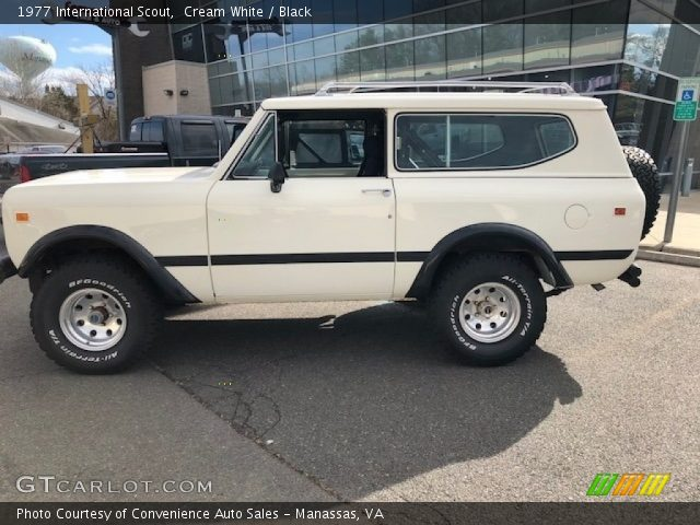 1977 International Scout  in Cream White