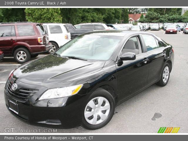 black 2008 toyota camry le ash interior vehicle archive 12507646. Black Bedroom Furniture Sets. Home Design Ideas