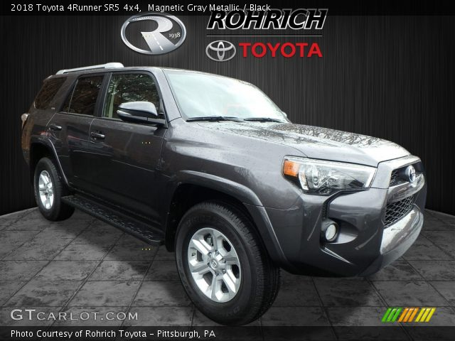 2018 Toyota 4Runner SR5 4x4 in Magnetic Gray Metallic