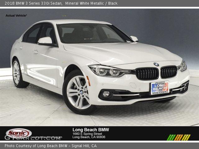 2018 BMW 3 Series 330i Sedan in Mineral White Metallic