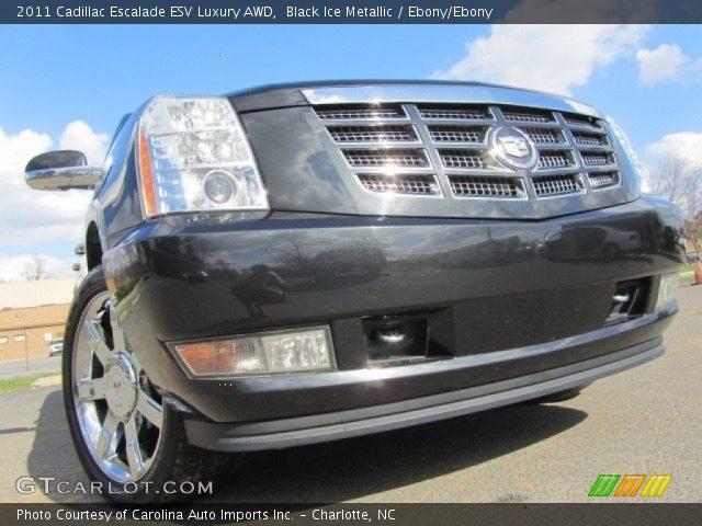2011 Cadillac Escalade ESV Luxury AWD in Black Ice Metallic