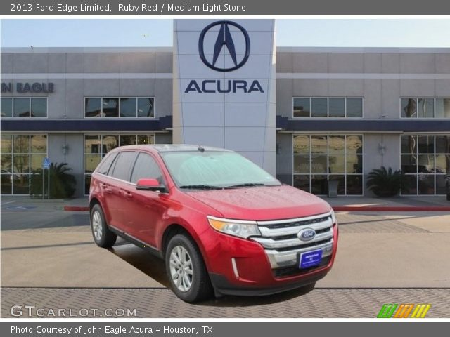 2013 Ford Edge Limited in Ruby Red