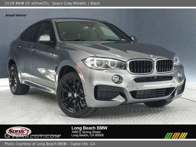 2018 BMW X6 xDrive35i in Space Gray Metallic