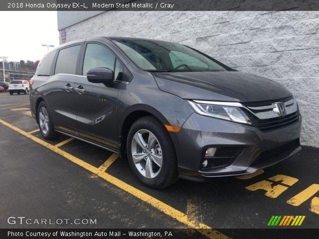 2018 Honda Odyssey EX-L in Modern Steel Metallic