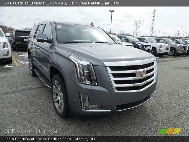 2018 Cadillac Escalade Luxury 4WD in Satin Steel Metallic