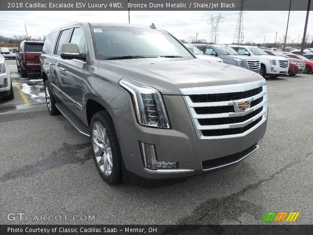 2018 Cadillac Escalade ESV Luxury 4WD in Bronze Dune Metallic