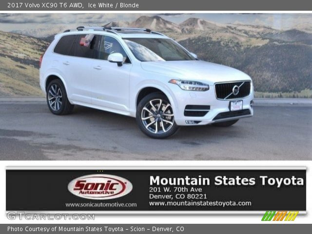 2017 Volvo XC90 T6 AWD in Ice White