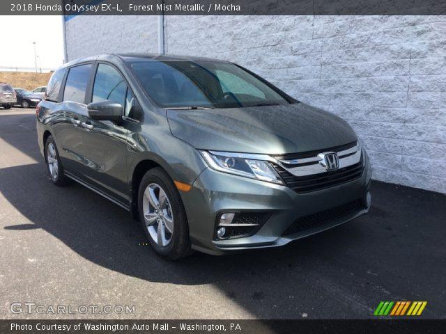 2018 Honda Odyssey EX-L in Forest Mist Metallic