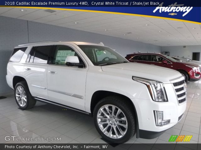 2018 Cadillac Escalade Premium Luxury 4WD in Crystal White Tricoat