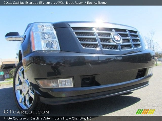 2011 Cadillac Escalade ESV Luxury AWD in Black Raven