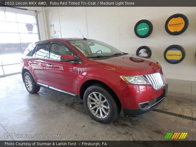 2013 Lincoln MKX AWD in Ruby Red Tinted Tri-Coat